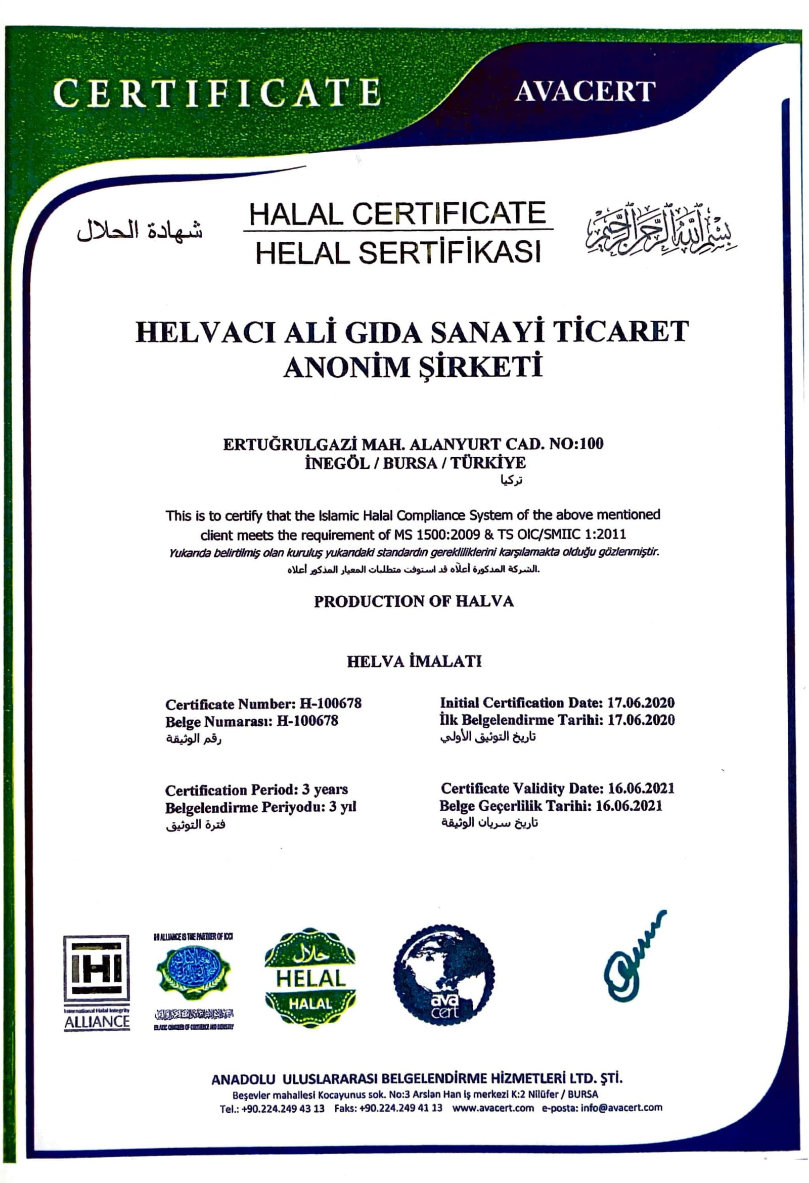 helal sertifikası-1
