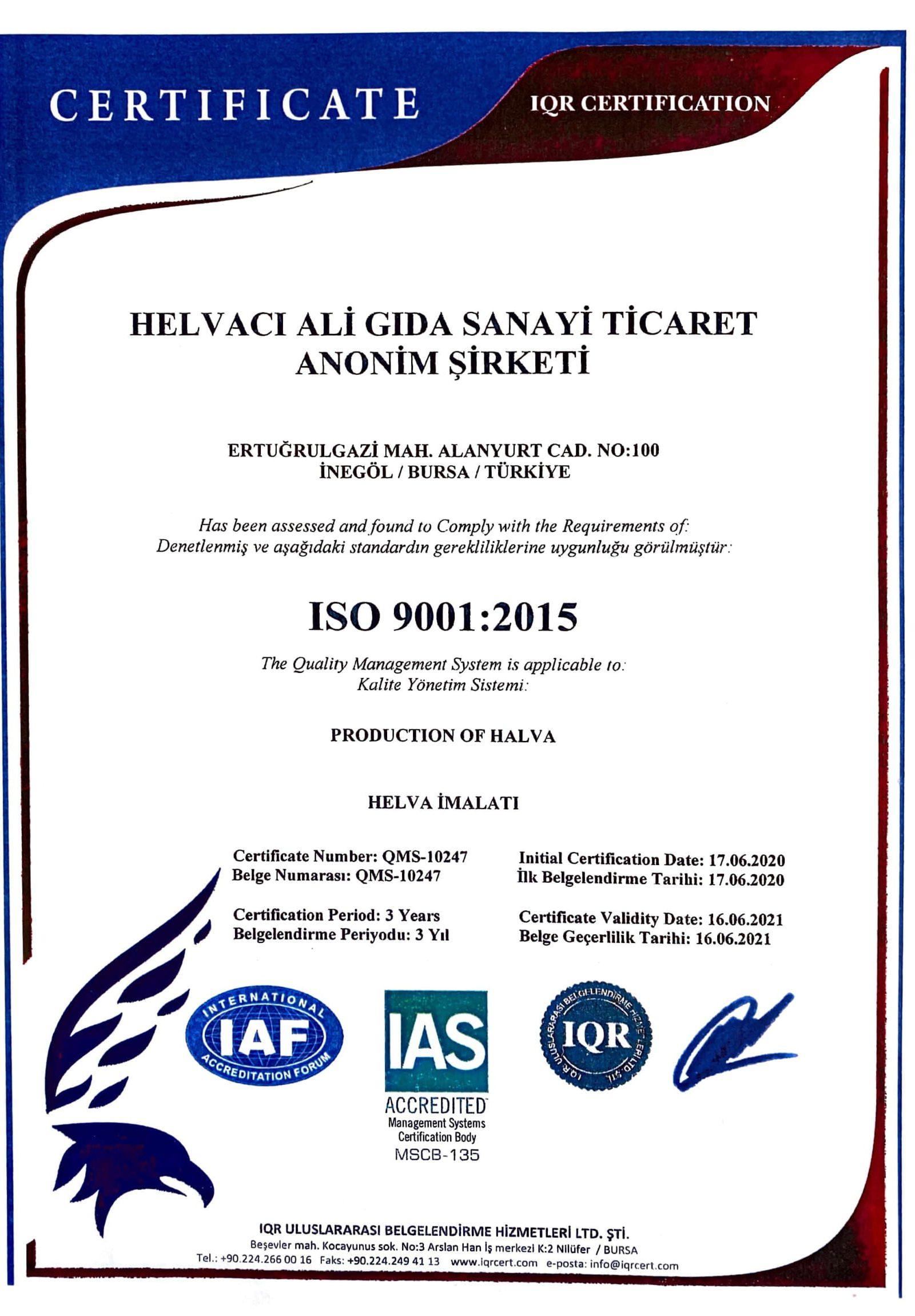 ıqr sertfika 2-1